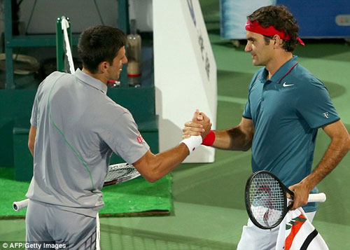"Khi Federer đưa Djokovic vào ""ma trận"" - 1"