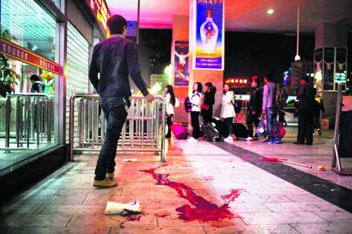 Xuất hiện video vụ thảm sát đẫm máu ở Côn Minh - 1