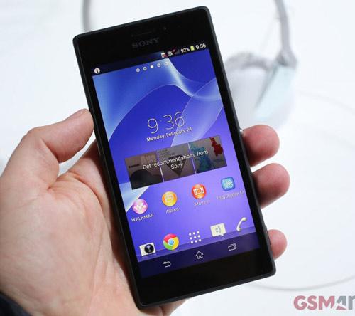Công bố giá Sony Xperia M2 - 1