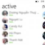 """Thời trang Hi-tech - Facebook Messenger trên Windows Phone: """"Chat chít"""" cực đã!"""