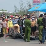 Tin tức trong ngày - Xe tải tông xe máy, nữ du khách chết thảm