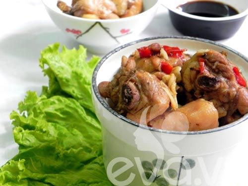 Đậm đà 3 món thịt gà kho - 4