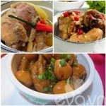 Ẩm thực - Đậm đà 3 món thịt gà kho