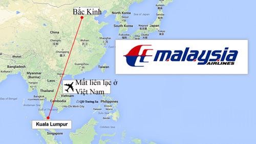 Malaysia: Máy bay chở 227 hành khách mất tích - 1