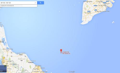 Máy bay Malaysia chở 239 người mất tích - 1