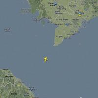 Máy bay Malaysia rơi: Phát hiện vệt loang trên biển