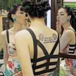 Thời trang - Mặc váy đẹp như người mẫu nội y Trung Quốc