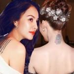 Làm đẹp - Những hình xăm gây tò mò của người đẹp Việt