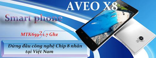 """Lộ diện Aveo X8 """"chip lõi 8"""", Ram 2Gb, Rom 16Gb Full HD - 1"""