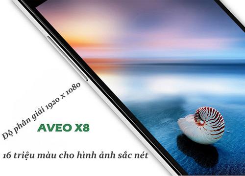 """Lộ diện Aveo X8 """"chip lõi 8"""", Ram 2Gb, Rom 16Gb Full HD - 3"""