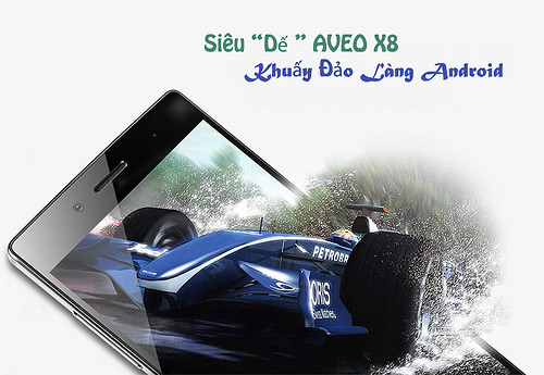 """Lộ diện Aveo X8 """"chip lõi 8"""", Ram 2Gb, Rom 16Gb Full HD - 9"""