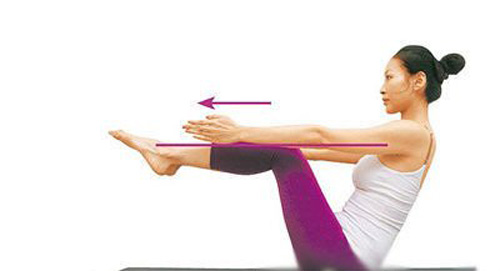 3 bài tập yoga cho vòng eo con kiến - 5