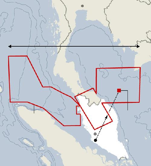 Máy bay MH370 đã cố quay về đất liền? - 1