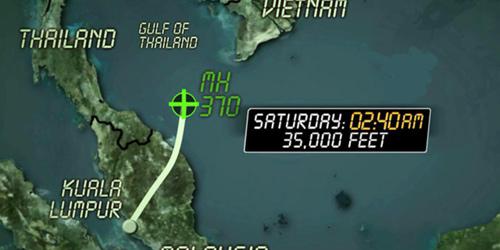 Máy bay MH370 đã cố quay về đất liền? - 2