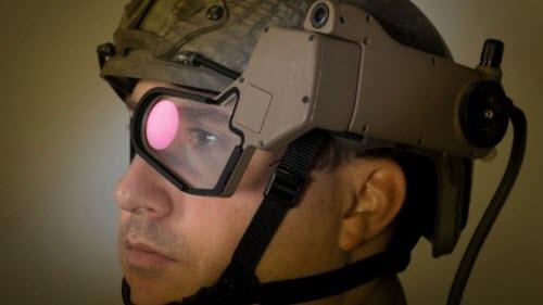 Trang bị kính Google Glass cho lính Mỹ trong chiến đấu - 1
