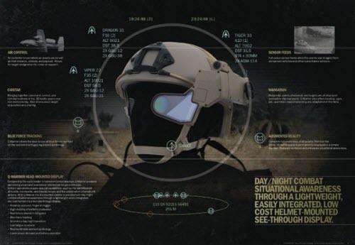 Trang bị kính Google Glass cho lính Mỹ trong chiến đấu - 2
