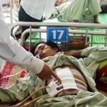 Sức khỏe đời sống - Cứu sống bệnh nhân tự đâm thủng gan