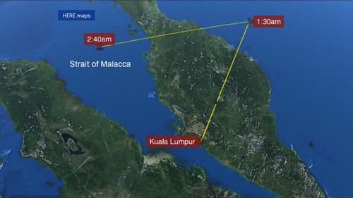 Malaysia: Thấy tín hiệu máy bay lạ gần Thái Lan - 1