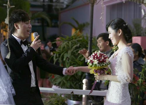 """Đám cưới """"kín tiếng"""" của Minh Vương M4U - 14"""