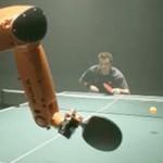 Phi thường - kỳ quặc - Video: Toát mồ hôi đấu bóng bàn với robot