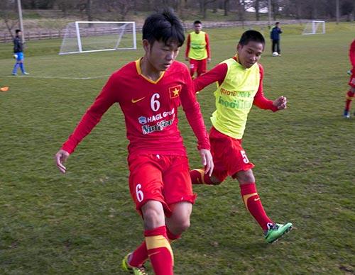 U19 VN-U19 Coventry: Ghi bàn & thử nghiệm - 2