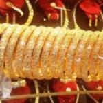 Tài chính - Bất động sản - Giá vàng tăng chậm cuối tuần