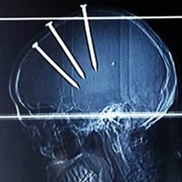 Choáng váng: Đập vỡ 90 tấm bê tông bằng đầu trong 25 giây - 2