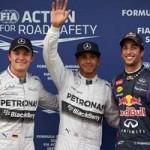 Thể thao - Phân hạng Australian GP: Hamilton thủy chiến đoạt pole