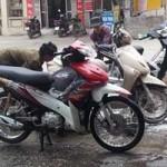 Thị trường - Tiêu dùng - Thu tiền triệu nhờ dịch vụ rửa xe sau mưa phùn