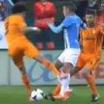 Bóng đá - Đạp đối thủ thô bạo, Pepe vẫn bình an