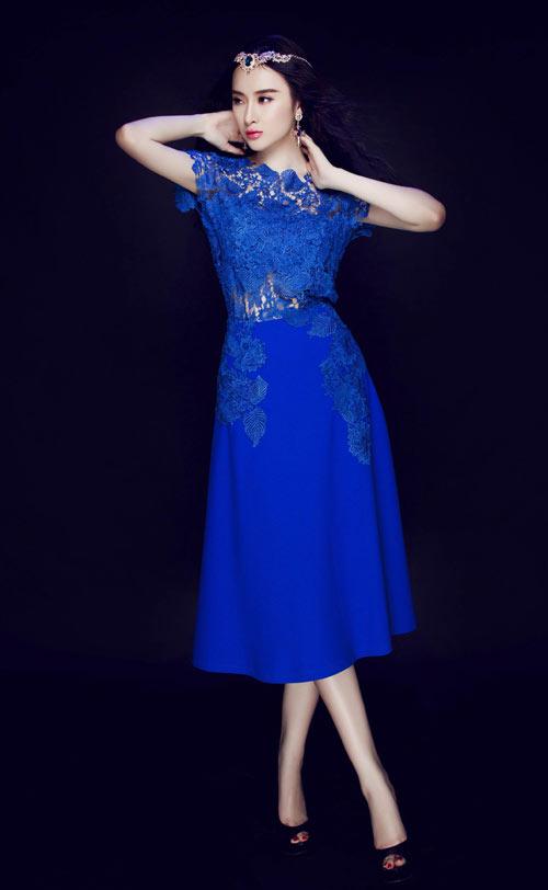 Váy áo hiền ngoan bất ngờ của Phương Trinh - 13