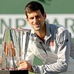 Thể thao - Djokovic tự hào đăng quang ở Indian Wells