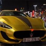 Ô tô - Xe máy - Cận cảnh Maserati GranTurismo bọc vàng, đính pha lê