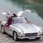 """Ô tô - Xe máy - Siêu xe """"cánh chinh"""" cổ 300SL AMG 1954 tái xuất"""