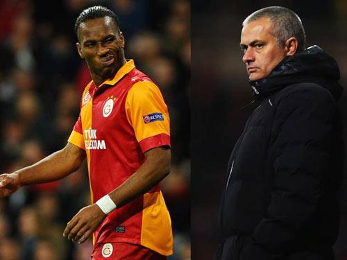 """Mourinho – Drogba """"tri ân"""" trước đại chiến - 1"""