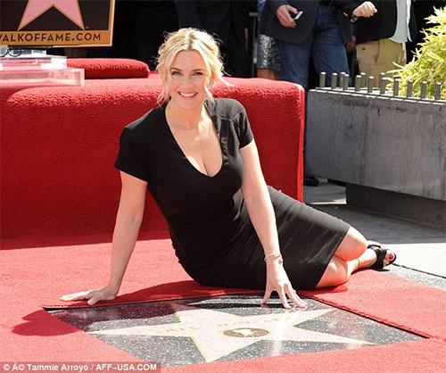 Kate Winslet tỏa sáng trên Đại lộ danh vọng - 5