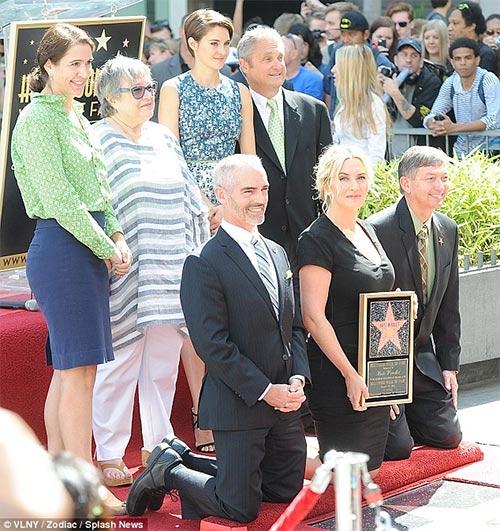Kate Winslet tỏa sáng trên Đại lộ danh vọng - 8
