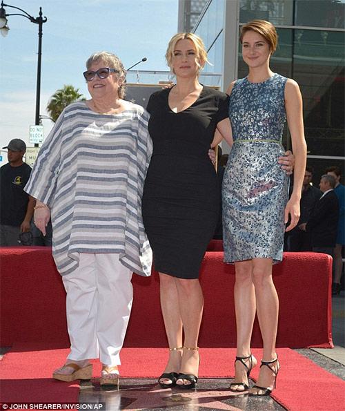 Kate Winslet tỏa sáng trên Đại lộ danh vọng - 7