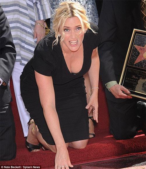 Kate Winslet tỏa sáng trên Đại lộ danh vọng - 4