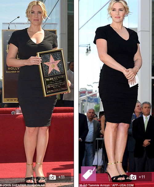 Kate Winslet tỏa sáng trên Đại lộ danh vọng - 1