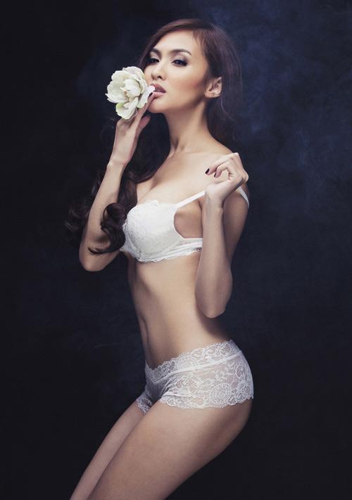 Ngẩn ngơ xem hot girl Việt khoe eo thon đẹp - 8