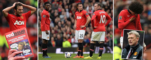 Rooney kêu gọi CĐV, Moyes mâu thuẫn Giggs? - 1