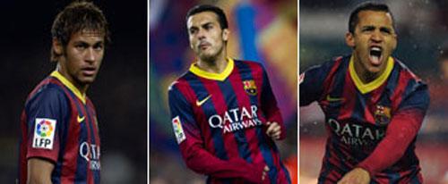 Barca tới El Clasico: Tìm đối tác cho Messi - 2
