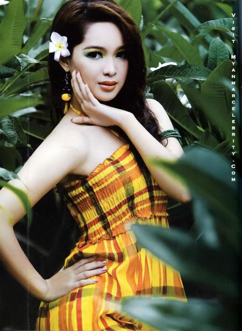 Sửng sốt người đẹp Myanmar xuống tóc đi tu - 13