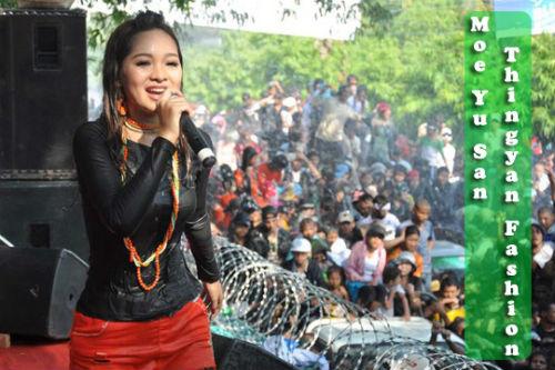 Sửng sốt người đẹp Myanmar xuống tóc đi tu - 16