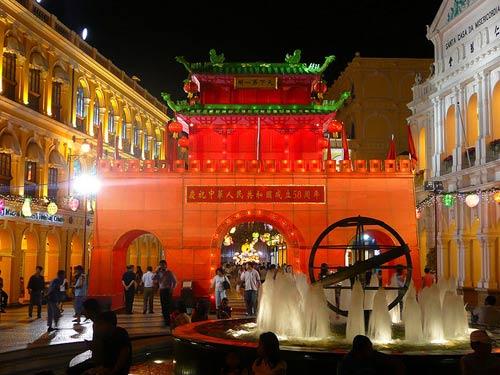Ghé quảng trường Senado lịch sử ở Ma Cao - 2