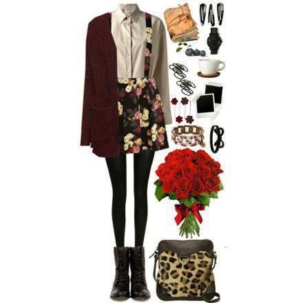 8 gợi ý mặc họa tiết hoa cho nữ sinh - 5