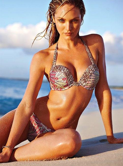 "Candice Swanepoel ""bốc cháy"" với bikini - 1"