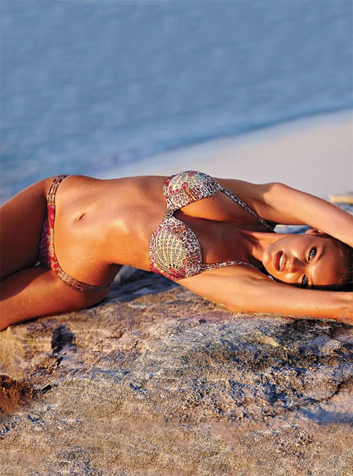 "Candice Swanepoel ""bốc cháy"" với bikini - 15"