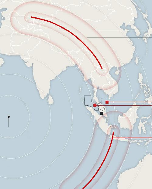 MH370 núp bóng máy bay khác để né radar? - 1